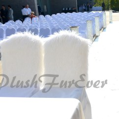 Custom Banquet Chair Covers Massage Headrest Wedding Cover One Pair Groom And Bride Chairs Seats Luxurious Fancy Meaningful Faux Fur Sizes Colors Available