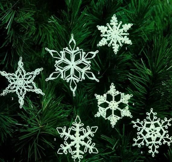 Crochet Snowflake Pattern Instant Download