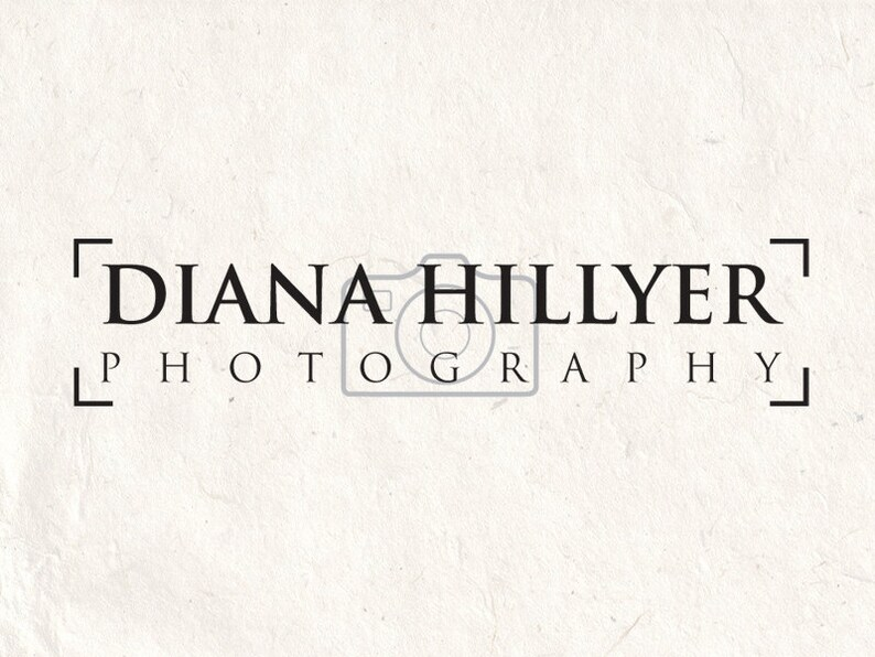 Photography logo design photography watermark heart logo