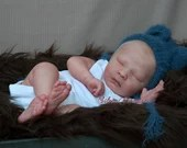 Order Today For FREE Bonus Preemie! Custom Reborn Babies - Realborn®  Joseph Asleep Full Limbs 18 Inches 4-6 lbs