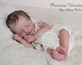 FREE Baby w/ Diamond Package - Custom Reborn Babies - Realborn® Kyrie Asleep 19 inches Full Arms & Legs 4-6 lbs .