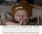 CuStOm FuLL bOdY ViNyL Hans Asleep by Lorraine Yophi (BOY ONLY)