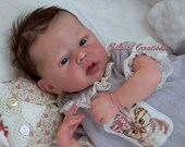 Custom Mindy By Adrie Stoete 17 inches Full Limbs 4-5 lbs (Reborn Babies)