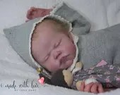 CUSTOM ORDER Reborn Doll Baby Girl or boy  Starling by AK Kitagawa Full Limbs 23 Inches 5-7 lbs (Reborn Babies)