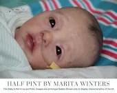 "FREE Bonus Baby!  **Read Item Details** CuStOm ReBoRn BaBy Half Pint By Marita Winters (15""+Full Limbs)"