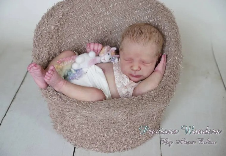 Reborn Babies - Custom Reborn Baby - Realborn®  Rebekah Full Limbs 19 Inches 4-6 lbs  Custom .Custom Reborn Baby Doll. Vinyl.