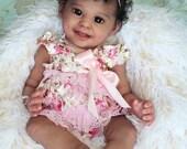 Order Today For FREE Bonus Preemie! Custom Reborn Babies - Mya by Maria Jordano 20 inches Full Limbs 5-7 lbs. Vinyl.