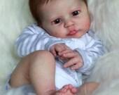 CUSTOM ORDER Reborn Doll Baby Girl or boy Heron by AK Kitagawa 20 inches Full Limbs - 5-7 lbs. (Reborn Babies)