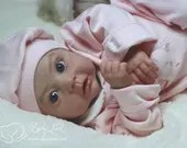 CUSTOM ORDER Reborn Doll Baby Girl or boy Inka by Ina Volprich 22 inches with 3/4 Limbs 4-6 pounds (Reborn Babies)