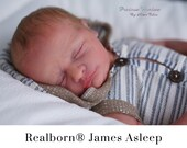 CuStOm Realborn® James Sleeping (18 Inches + Full Limbs) *Requires Longer Processing Time.
