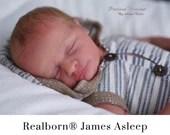 "CuStOm ReBoRn Realborn® James Sleeping (18""+Full Limbs)"