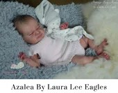 """Would You Like A FREE BabyStyle Rooted Baby? See Item Details! CuStOm ReBoRn Azalea by Laura Lee Eagles (19""""+Full Limbs)"""