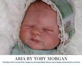 "FREE Bonus Baby!  **Read Item Details** CuStOm ReBoRn BaBy Aria By Toby Morgan (18""+Full Limbs)"