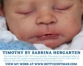 """CuStOm Timothy by Sabrina Hergarten (21"""" Full Limbs) Limited Edition 999 Worldwide **extended processing time."""