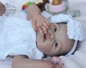 """CUSTOM ORDER/Made To Order Reborn Doll Baby Girl or boy Adeline by Ping Lau 20"""" Full Limbs (Reborn Babies)"""
