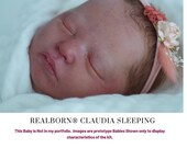 "CuStOm ReBoRn Realborn® Claudia Sleeping (18""+Full Limbs)"