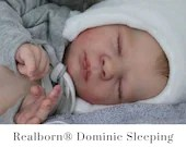 CuStOm Realborn® Dominic Sleeping (19 Inches + Full Limbs) *Requires Longer Processing Time.