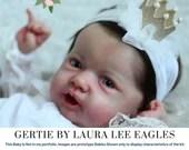 """CuStOm ReBoRn Gertie By Laura Lee Eagles (23""""+Full Limbs)"""