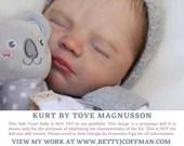 "Brand New CuStOm ReBoRn Kurt by Tove Magnusson (20""+Full Limbs)"