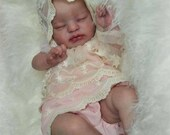 Custom (Long Sold Out) Lil Treasure By Laura Lee Eagles 19 inches Full Limbs 5-7 pounds . (Reborn Babies)