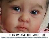 "FREE Bonus Baby!  **Read Item Details** CuStOm ReBoRn BaBy Huxley by Andrea Arcello (22""+Full Limbs)"