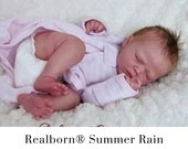 CuStOm Realborn® Summer Rain Sleeping (18 Inches + Full Limbs) *Requires Longer Processing Time.