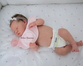 CUSTOM ORDER Reborn Doll Baby Girl or boy Realborn®  Sleeping Zuri Full Limbs 19 Inches 4-6 lbs You Choose All Details Layaway Available!