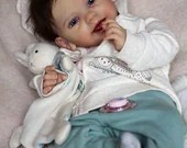 SPECIAL OFFER! Buy One Get One 25% Off! Custom Reborn Babies - Alouette by Mayra Garza 20 inches  Full limbs 5-7 lbs