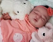 """SPECIAL OFFER! Buy One Get One 25% Off! Custom Reborn Babies - Ivy Jane By Melody Hess Full Limbs 22"""" 7-9 lbs"""