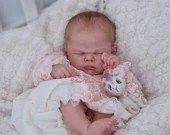 CUSTOM ORDER Reborn Doll Baby Girl or boy Bluebell By Cassie Brace 22 inches FULL limbs 6-8 lbs Reborn Baby (Reborn Babies)