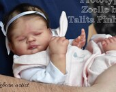 FREE Baby w/ Diamond Package - Custom Reborn Babies - Zoelle By Talita Pinheiro 17 inches  4-6  lbs Full Limbs
