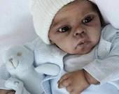 CUSTOM ORDER Reborn Doll Baby Girl or boy Nigel by Lilianne Breedveld 20 inches  3/4 arms Full legs (Reborn Babies)