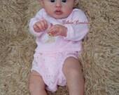 CUSTOM MADE Reborn Doll Baby Girl or boy  Gannett by AK Kitagawa 20 inches Full limbs 5-7 lbs (Reborn Babies)