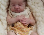 FREE Baby w/ Diamond Package - Custom Reborn Babies - Levi by Bonnie Brown Full Limbs 19 inches 7-9 lbs. Vinyl.
