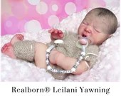CuStOm Realborn® Leilani Yawning (18 Inches + Full Limbs) *Requires Longer Processing Time.