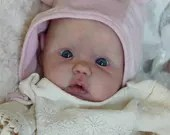 FREE Baby w/ Diamond Package - Custom Reborn Babies - Mika by Didy Jacobsen 20 inches with 3/4 Limbs 4-6 pounds