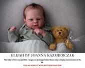 """CuStOm ReBoRn Elijah by Joanna Kazmierczak (18""""+Full Limbs)"""