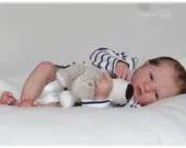 CUSTOM ORDER Reborn Doll Baby Girl or boy Realborn®  Logan Awake Full Limbs 19 Inches 4-6 lbs You Choose All Details Layaway Available!