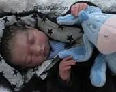 CUSTOM ORDER Reborn Doll Baby Girl or boy  Isaac by Stephanie Sullivan 21 inches 3/4 limbs (Reborn Babies)