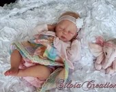 FREE Baby w/ Diamond Package - Custom Reborn Babies - Full Body   Ilse by Menna Hartog 20 Inches  Full Limbs 5-7 lbs