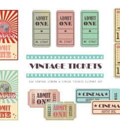 vintage cinema ticket clipart cinema clipart ticket clipart movie printable cinema planner stickers circus clipart admit one [ 1000 x 800 Pixel ]