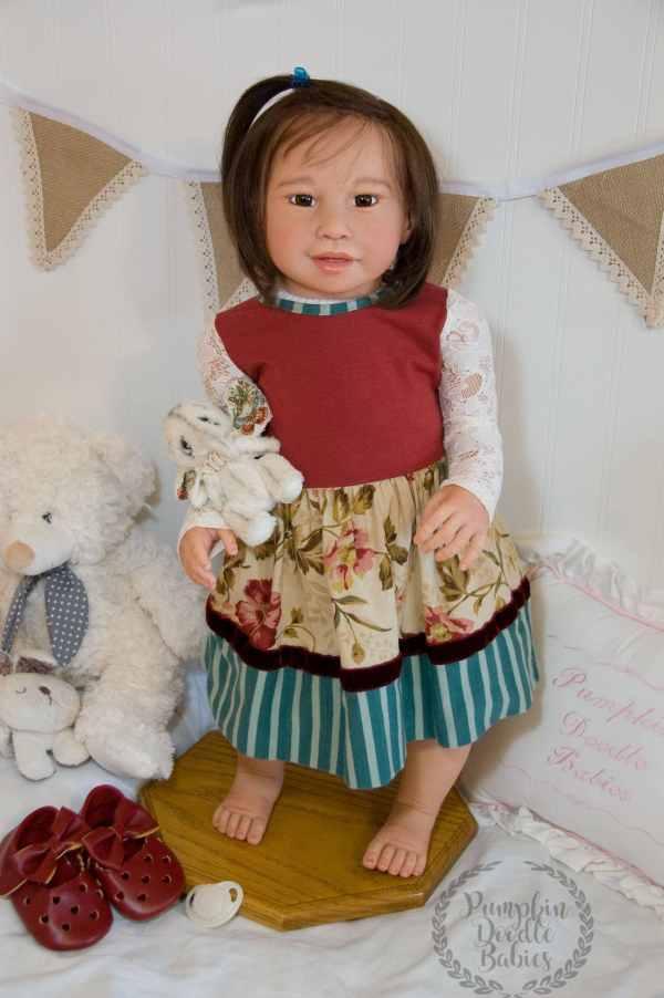 Custom Order Reborn Toddler Doll Baby Girl Boy Kimi