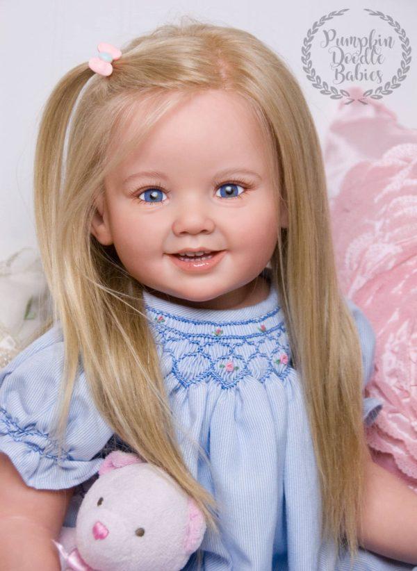 Custom Order Reborn Toddler Doll Baby Girl Cammi Ping