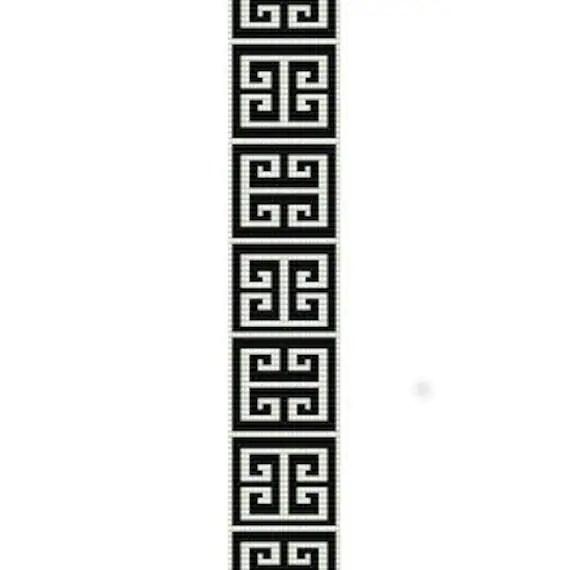 Instant Download Beading Pattern Peyote Stitch Bracelet