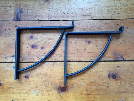 metal curved window box shelf