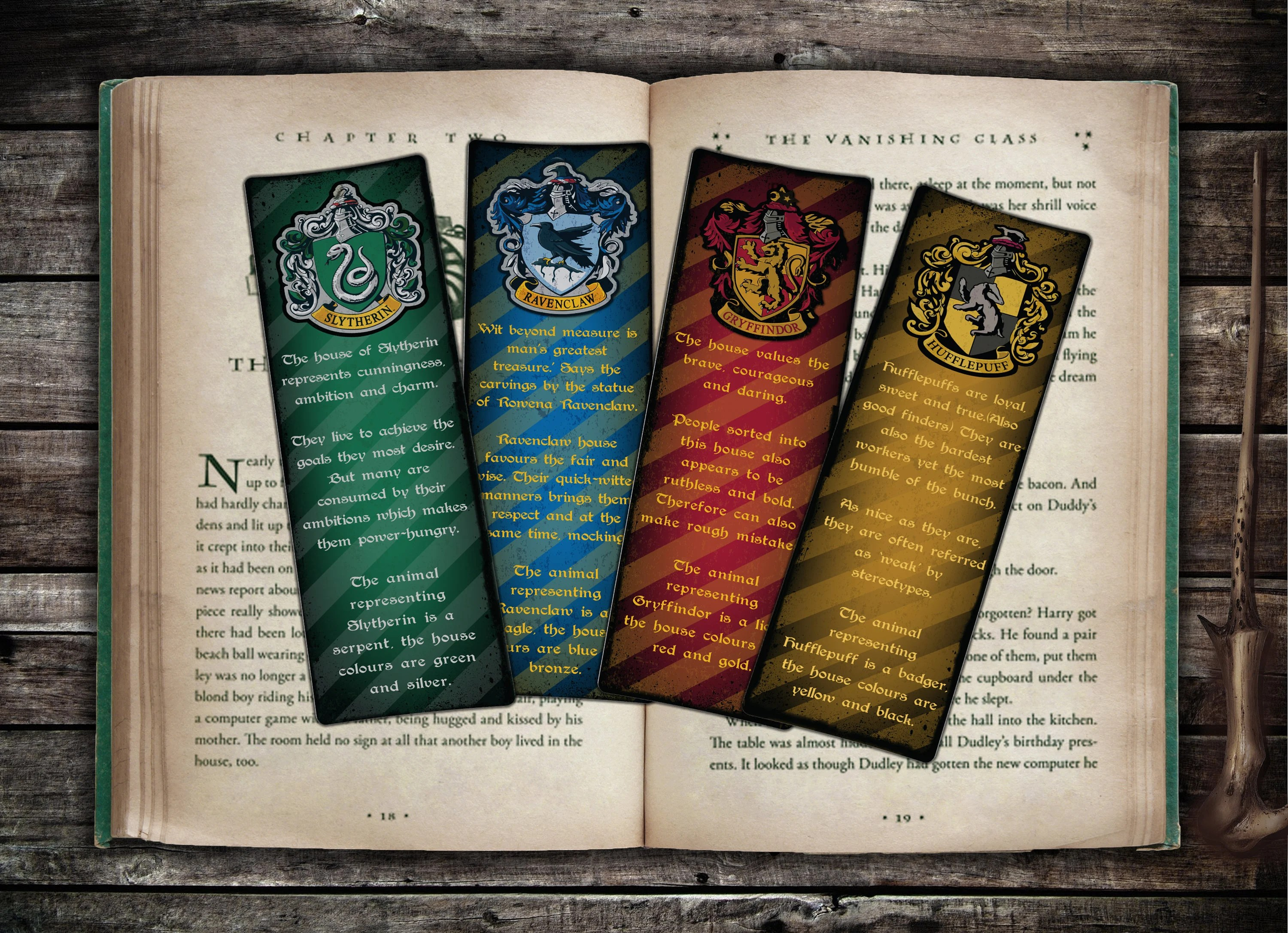 Printable Bookmarks Harry Potter