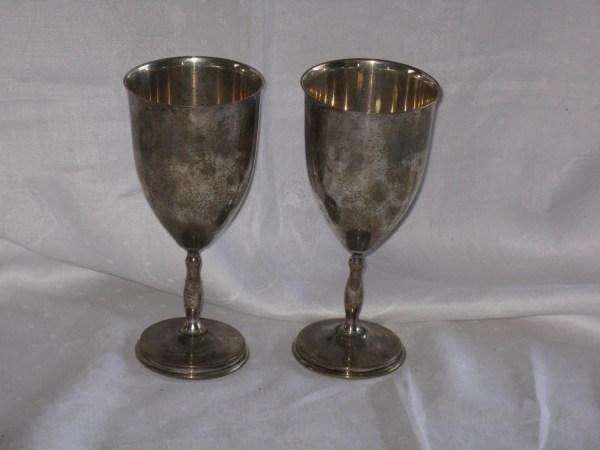 Pair Of Vintage Juvento Reyes Sterling Silver