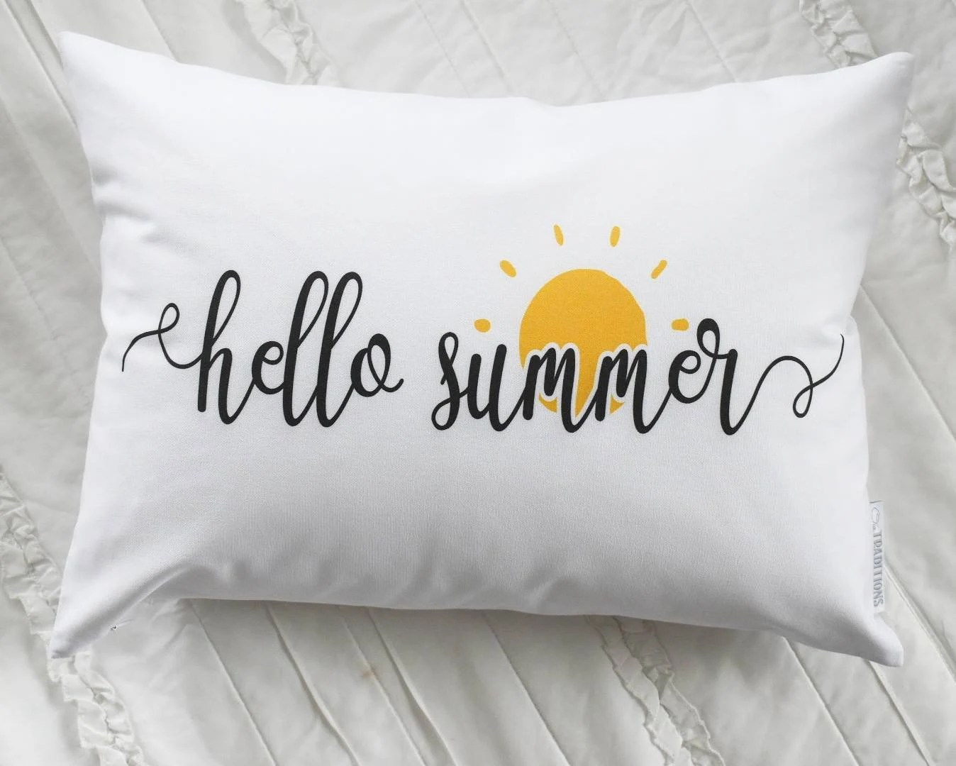 summer pillow cover etsy