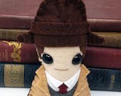 """Detective Inspector John """"Jack"""" Robinson  - Miss Fisher's Murder Mysteries plushie  (made to order - may not arrive in time for Christmas)"""