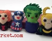 Avengers plushies (made to order)